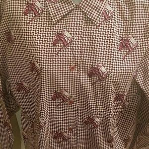 Amazing Unique Womens Nordstrom's  horse shirt!